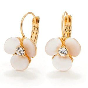 Kate Spade Fashion Pearl Shell Earrings